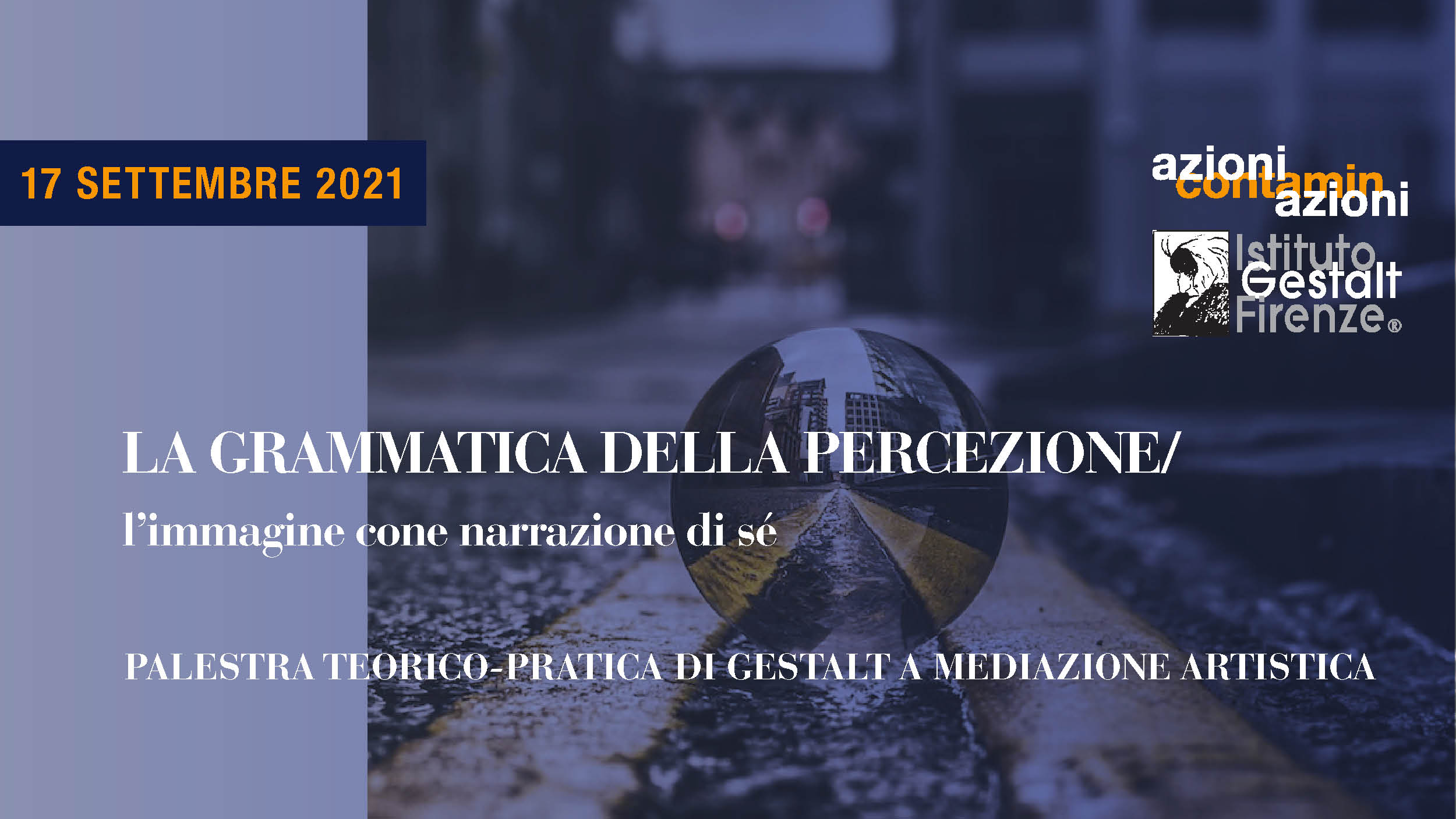 17 set 2021 - Grammatica Percezione BANNER