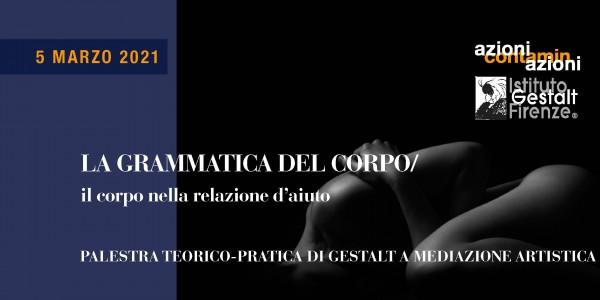 5 mar 2021 - Grammatica Corpo BANNER