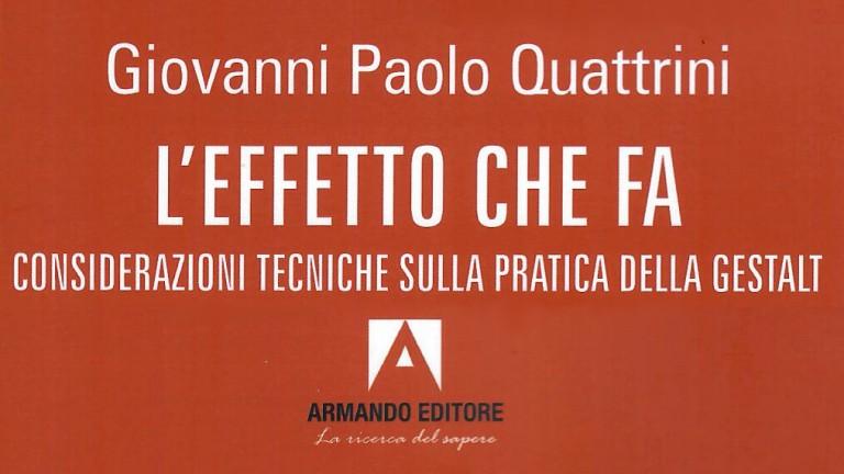 L'Effetto che fa-G Paolo Quattrini - titolo rettangolare