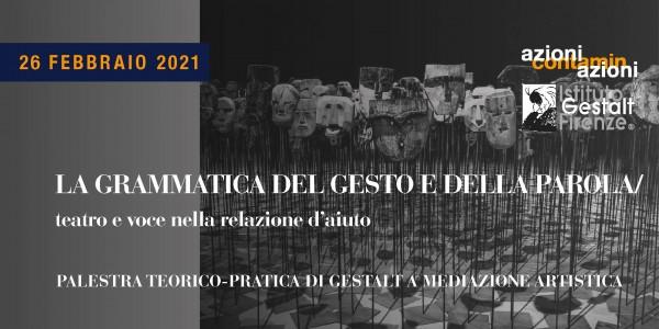 26 feb 2021 - Grammatica Gesto-Parola BANNER
